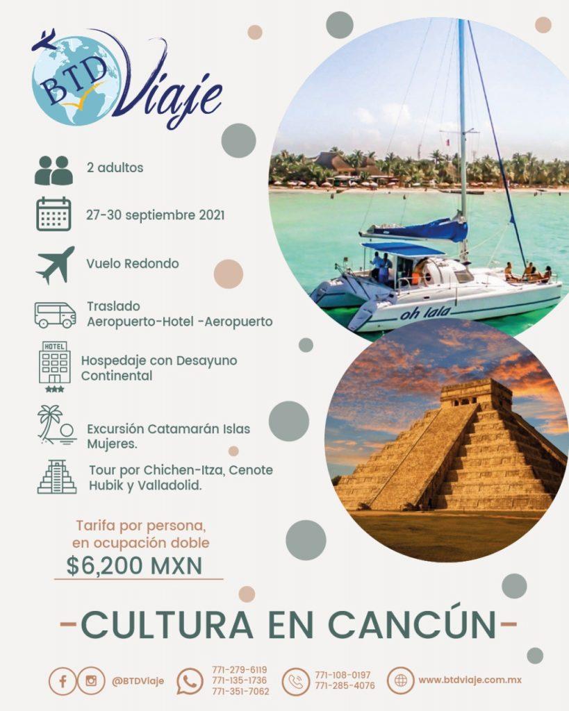 Cultura en cancun - paquete especial para dos personas